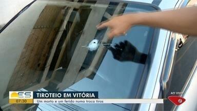 Tiroteio em Caratoíra, Vitória, deixa um morto e um ferido - Moradores relataram que ouviram mais de 50 tiros.