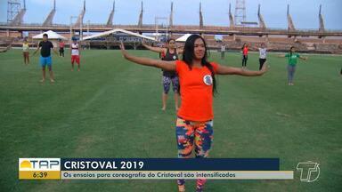 Cristoval 2019: Ensaios da coreografia são intensificados - Retiro espiritual religioso acontece no estádio Colosso do Tapajós, do dia 2 ao dia 5 de março.