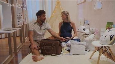 Sou pai, e agora: mala da maternidade - Alguns itens são indispensáveis na mala da maternidade. Mas será que o Júlio sabe para que serve cada coisa?
