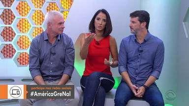 Globo Esporte RS aquece a Libertadores com a #AméricaGreNal - Assista ao vídeo.