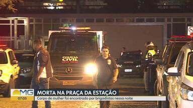 Mulher morre durante o carnaval na Praça da Estação, em BH - Bombeiros e Samu disseram que não foi possível determinar a causa da morte. O Instituto Médico Legal foi acionado para perícia.