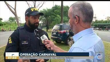 PRF registra três mortes neste carnaval - PRF registra três mortes neste carnaval