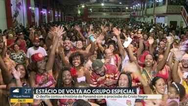 Estácio de Sá é a campeã da Série A do carnaval do Rio de Janeiro em 2019 - A escola volta ao grupo especial em 2020, depois de três anos.