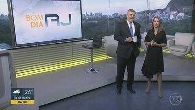 Bom Dia RJ - Edição de quinta-feira, 07/03/2019 - As primeiras notícias do Rio de Janeiro, apresentadas por Flávio Fachel, com prestação de serviço, boletins de trânsito e previsão do tempo.