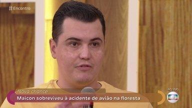 Maicon sobreviveu a acidente de avião na floresta - Ele sofreu muitas queimaduras e sobreviveu sozinho por cinco dias até conseguir o resgate