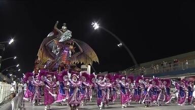 Desfile das campeãs do Carnaval 2019 aconteceu nesta sexta (8) e agitou o sambódromo - As escolas que conseguiram as melhores notas no desfile deste ano voltaram à avenida.