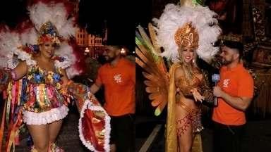 Bastidores do Carnaval do Rio de Janeiro que teve o Ceará em evidência - Daniel Viana conversa com destaques cearenses que fizeram parte dos desfiles das Escolas de Samba na Sapucaí