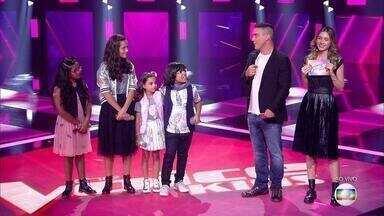Programa de 10/03/2019 - No primeiro domingo de Shows ao Vivo, público ajuda a escolher quem segue no 'The Voice Kids'