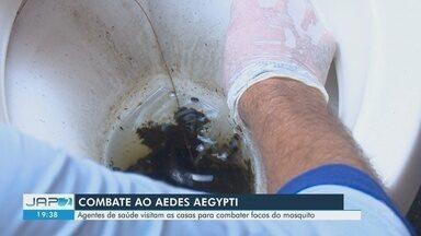 Inicia novo levantamento sobre índice de infestação do Aedes aegypti, em Macapá - Em janeiro e fevereiro situação foi de médio risco na capital.