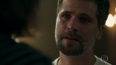 Gabriel nega apoio para proteger a fonte - Guardião se recusa a aceitar a ajuda de Valentina em sua missão à frente da irmandade