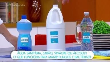 O que funciona para matar fungos e bactérias? - Após uma enchente, como limpar a casa, os objetos, os alimentos? Quais os perigos?