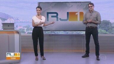 RJ1 - Edição de terça-feira, 12/03/2019 - O telejornal, apresentado por Mariana Gross, exibe as principais notícias do Rio, com prestação de serviço e previsão do tempo.