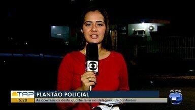 Veja o giro com as notícias da área policial desta quinta-feira no Bom Dia Tapajós - Casos foram registrados na 16ª Seccional de Polícia Civil. Confira as principais notícias da área policial desta quinta (14).