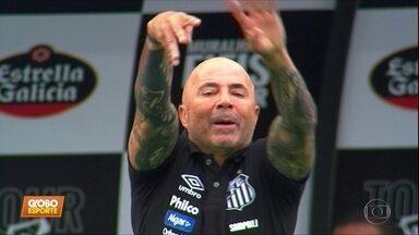 """No Santos, Sampaoli faz aniversário e ganha """"parabéns"""" de Pelé - No Santos, Sampaoli faz aniversário e ganha """"parabéns"""" de Pelé"""