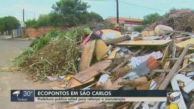 Prefeitura de São Carlos publica edital para contratar empresa para reformar ecopontos - Segundo a Secretaria de Obras e Serviços Públicos, ainda será contratada uma empresa para cuidar da administração desses espaços.
