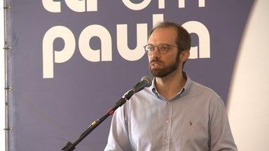 Jornalista Daniel Scola é palestrante do Tá em Pauta, em Rio Grande - Gerente-executivo da Rádio Gaúcha falou sobre primeiros meses dos governos estadual e federal e da importância da mobilização de lideranças regionais.