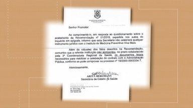Secretaria Estadual de Saúde descarta contrato com Instituto Viva Mais - Governo do Estado seguiu recomendação do Ministério Público e não vai firmar contrato para atendimentos na Santa Casa de Rio Grande através do SUS.