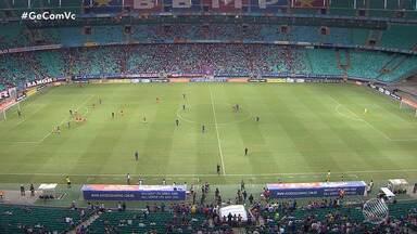 Copa do Nordeste: Bahia perde para o Sergipe dentro de casa e é vaiado pela torcida - Torcedores têm pedido a saída do técnico Enderson Moreira. Veja os principais lances do jogo e o treino realizado na manhã desta quinta-feira (14)