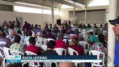 Prefeitos do Agreste e Sertão se reúnem para discutir sobre a Bacia Leiteira de Pernambuco - Secretário do Estado e da Agricultura falam sobre o assunto.