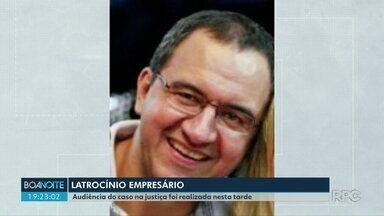 Justiça faz em Londrina primeira audiência do caso Rafael Martins - O empresário foi morto em setembro de 2018 quando saía da casa dele em um condomínio na zona sul da cidade.