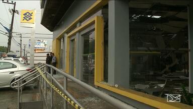 Bandidos explodem agência do BB em São Luís - O Sindicato dos Bancários denuncia a falta de segurança nas agências.