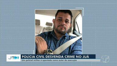 Casal suspeito de matar homem na área do Juá e possível executor do crime são presos - Um policial militar é suspeito de ser o executor do crime. Célio Fernandes foi morto no início do mês de fevereiro.