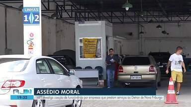 MPT investiga coação de funcionários terceirizadas que prestam serviços para o Detran - Investigação aconteceu em Nova Friburgo, na Região Serrana do Rio.