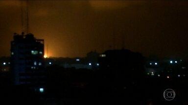 Foguetes são disparados da Faixa de Gaza contra Tel Aviv, em Israel - A capital israelense não era alvo deste tipo de ataque desde 2014. Segundo as autoridades, não há danos nem feridos. Em resposta, Israel atacou uma base do Hamas no sul da Faixa de Gaza.