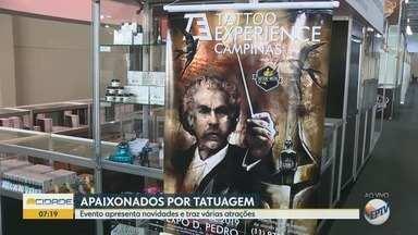 Evento de Tatuagem em Campinas apresenta novidades e traz atrações musicais - Tatto Experience terá arte, música, entretenimento e negócio.
