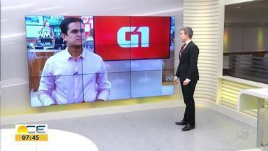 Reveja os destaques do G1 desta sexta-feira (15) - Entre os assuntos, o desempenho das exportações cearenses nos dois primeiros meses de 2019.