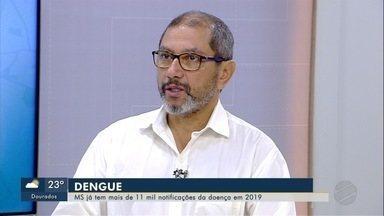 Pesquisador da Fiocruz fala sobre proliferação do Aedes agypti e situação da dengue em MS - Rivaldo Venâncio esteve nesta sexta-feira (15) no Bom Dia MS.