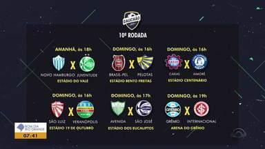 Confira os próximos jogos da décima rodada do Gauchão 2019 - Assista ao vídeo.