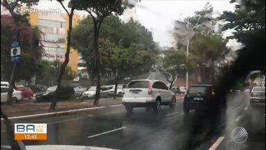 Previsão do tempo: chuva forte atinge Salvador na quinta-feira (14) - Veja a previsão do tempo para os próximos dias.