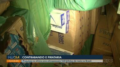 Prejuízos com o contrabando no último ano ultrapassam 160 bilhões de reais no Brasil - O contrabando e a pirataria geraram um prejuízo milionário para o país no ano passado.