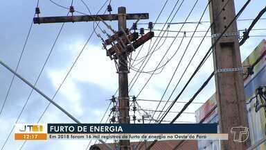 Mais de 16 mil casos de furto de energia foram registrados no oeste do Pará em 2018 - Em Santarém, 8.907 ligações irregulares foram encontradas. A Celpa afirma que a prática causa diversos prejuízos para a sociedade.