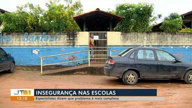 Escolas de Santarém fazem controle de entrada e saída em escolas públicas - Após o massacre na escola de Suzano (SP), pais se preocupam com a segurança dos filhos nas escolas. Segundo especialistas, problema é mais complexo.
