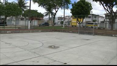 """Calendário JPB: praça está """"quase"""" pronto no bairro do Esplanada, em João Pessoa - Equipe do Calendário voltou ao local."""
