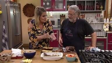 Roberto Ravioli prepara receita inspirada na família de Adriana - O 'Toque do Ravioli' leva o chef a conhecer histórias de receitas afetivas para a família brasileira