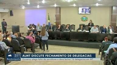 Audiência pública na Assembleia Legislativa discute fechamento de delegacias no interior - Audiência pública na Assembleia Legislativa discute fechamento de delegacias no interior.