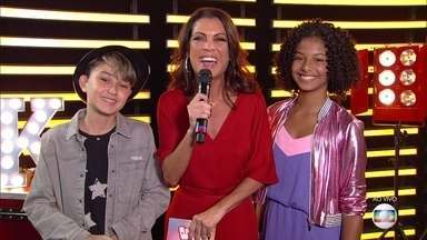 Thalita Rebouças conversa com Jeane e Guilherme do time Brown - As crianças falam da ansiedade e expectativa de entrarem no palco