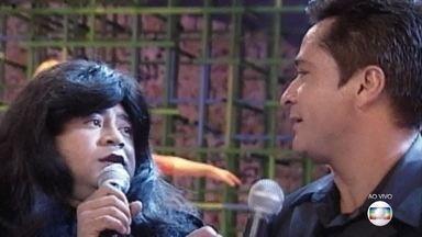 Relembre o dueto de Leonardo com Shaolin - Faustão exibe imagens saudosas do falecido humorista