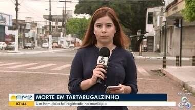 Polícia registra ocorrências em Tartarugalzinho, no AP - Assassinato e prisão de traficantes foram registradas no município, neste fim de semana.