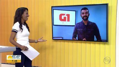 Anderson Barbosa apresenta os destaques do G1 Sergipe desta segunda-feira, 18 de março - Anderson Barbosa apresenta os destaques do G1 Sergipe desta segunda-feira, 18 de março.