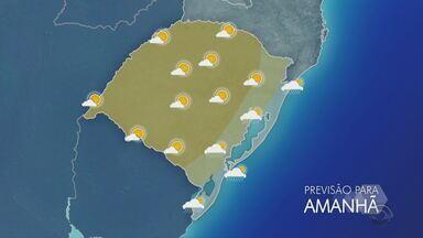 Segunda-feira (18) começa com chuvas em Porto Alegre e tem alertas de temporal pela tarde - Assista ao vídeo.