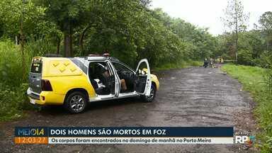 Dois homens são assassinados no fim de semana, em Foz - Os corpos foram encontrados no domingo de manhã no Porto Meira