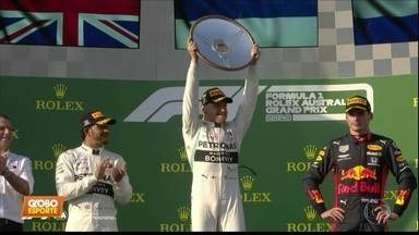 Fórmula 1: Bottas passa Hamilton na largada e vence GP polêmico na Austrália - Fórmula 1: Bottas passa Hamilton na largada e vence GP polêmico na Austrália