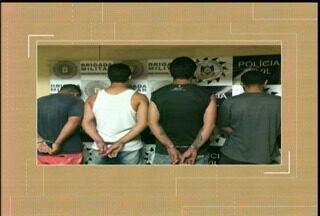 Polícia Civil e Brigada Militar prendem grupo criminoso em Bagé, RS - O grupo foi preso por tráfico de drogas e também planejava um sequestro na cidade.
