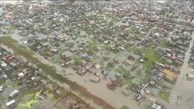 Ciclone tropical provoca a morte de 200 pessoas no continente africano - Este ciclone é o mais forte em 20 anos. Malaui, Moçambique e Zimbábue são os países mais afetados.