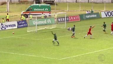Tupynambás é derrotado pela Caldense e se complica no Campeonato Mineiro - Baeta perde em Poços de Caldas e fica em situação difícil para se classificar às quartas de final