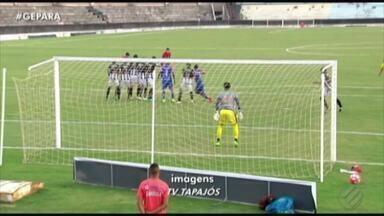 Veja os gols dos empates entre São Raimundo x Bragantino e Tapajós x São Francisco - Todos os jogos foram realizados no Estádio Colosso do Tapajós, em Santarém, e terminaram em 1 a 1